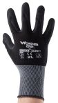Product image for Black nitrile coated grip glove 9