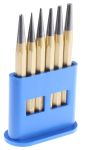 Product image for Pin and centre punch 6-piece set