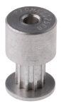 Product image for MXL Aluminium Pulley teeth 10, bore 3mm
