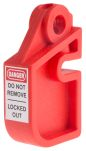 Product image for Red Universal Fuse Holder Lockout