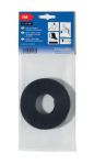 Product image for HOOK + LOOP TEXTIE 1000X125 PA/PP BLACK