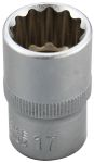 """Product image for 1/2"""" Drive 17mm Socket"""