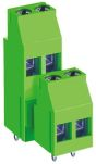 Product image for 2 way 2 stack terminal block 5.08mm