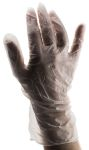 Product image for Large disposable co-polymer gloves