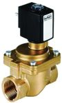 Product image for Burkert Solenoid Valve 93970118, 2 port , NC, 230 V ac, 1in