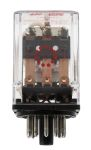 Product image for 11pin 3PCO plug-in relay,10A 115Vac coil