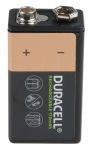 Product image for Duracell 150mAh NiMH 9V Rechargeable Battery