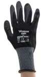 Product image for Black nitrile coated grip glove 10