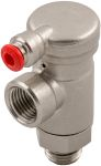 Product image for 1 Outlet Ports Brass Pneumatic Manifold Tube-to-Tube Fitting