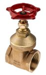 Product image for Bronze gate valve,PN20,2in BSPT