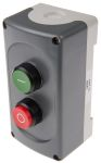 Product image for Start/Stop Station - 1NO+1NC Pushbutton