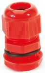 Product image for Nylon Cable Gland M20s Red 6 - 12mm