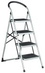Product image for Step Ladders, Foldable, 4 Tread,