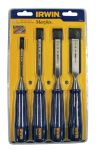 Product image for IRWIN MARPLES M444 CHISEL 4PC SET