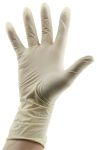 Product image for Class 100 medium disposable latex gloves
