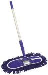 Product image for 60cm Dustbeater Sweeper Brush Blue