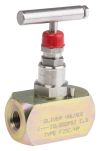 Product image for 1/4in NPT highpress isolator needlevalve