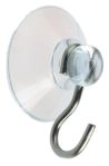 Product image for Suction cup hook with 20mm suction cup