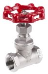 Product image for S/steel AISI globe valve,3/4in BSP F-F