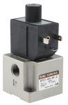 Product image for 3 Port Solenoid Valve, 24vDC, 1/4