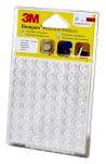 Product image for SJ5312 CLEAR BUMPONS 56PCS - 18 PER CASE