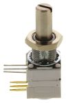 Product image for 149 1Section Cermet Pot Rotaryswitch,10k