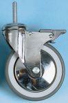 Product image for 0.180ARKING SW CASTOR W/BRAKE,100MM 80KG