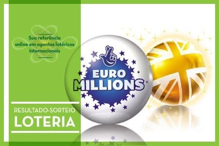 Informacoes sobre o sorteio expecial - super sorteio - da loteria EuroMillions, uma das maiores loterias do mundo