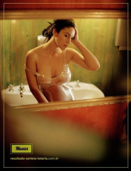 Loteria Italiana SuperEnaLotto: Monica Bellucci | Musas das Loterias 4