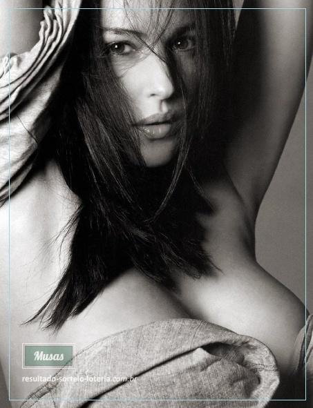 Loteria Italiana SuperEnaLotto: Monica Bellucci | Musas das Loterias 6