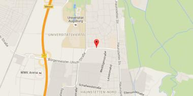 Google Map von Deutsche Energie-Agentur GmbH, Chausseestraße 128a, 10115 Berlin