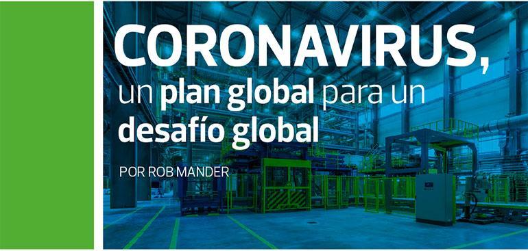 Coronavirus:un plan global para undesafío global