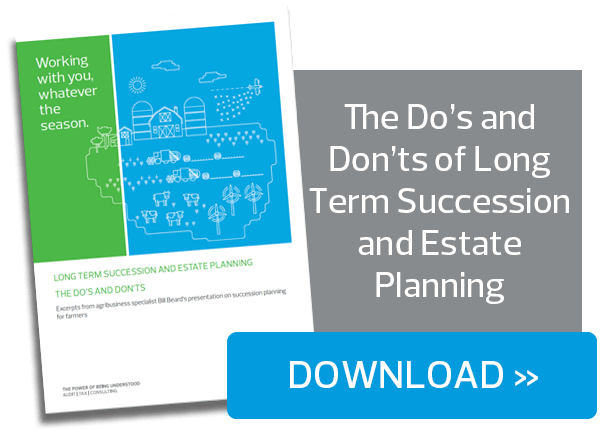 The do's and don'ts of estate and long term succession planning