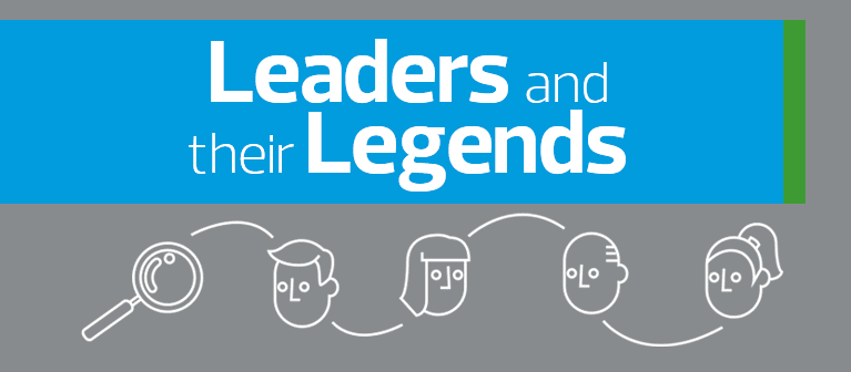 Leaders and their legends