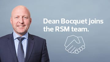 Dean Bocquet joins the RSM in albury team
