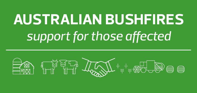 2019-20 Australian bushfires - support for those affected