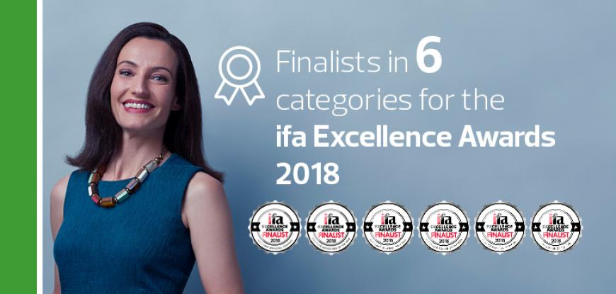 RSM finalists in ifa Excellence Awards 2018