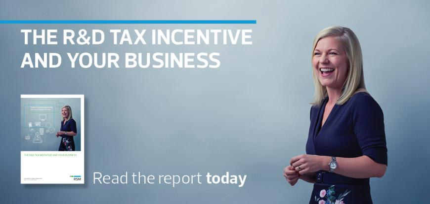 The R&D Tax Incentive and Your Business