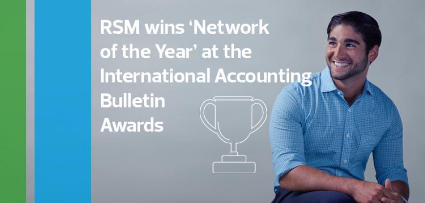 RSM wins prestigious 'Network of the Year' Award