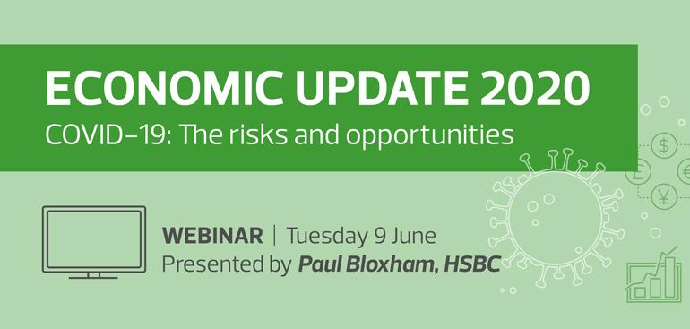 Economic Update 2020 Webinar | COVID-19: The risks and opportunities