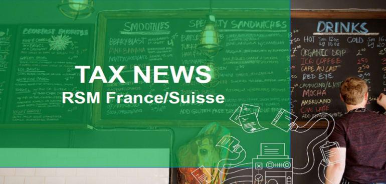 Tax news - France/Suisse - TVA