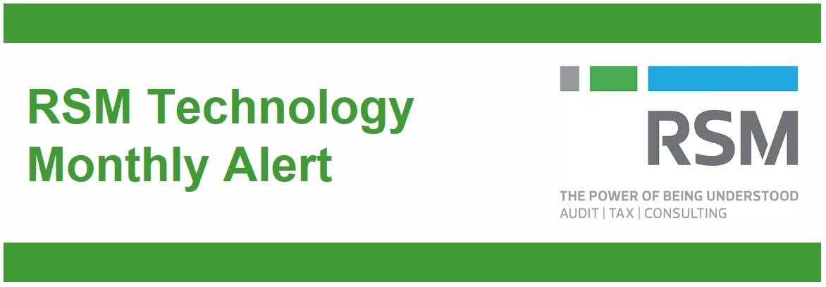 RSM Technology Monthly Alert - February 2020 | RSM Hong Kong