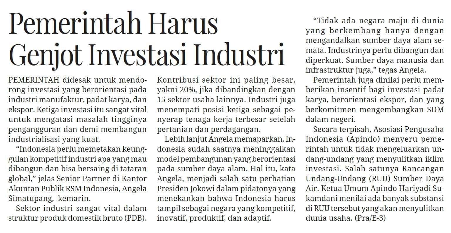 20190724_mediaindonesiahal13_pemerintahharusgenjotinvestasiindustri.jpg