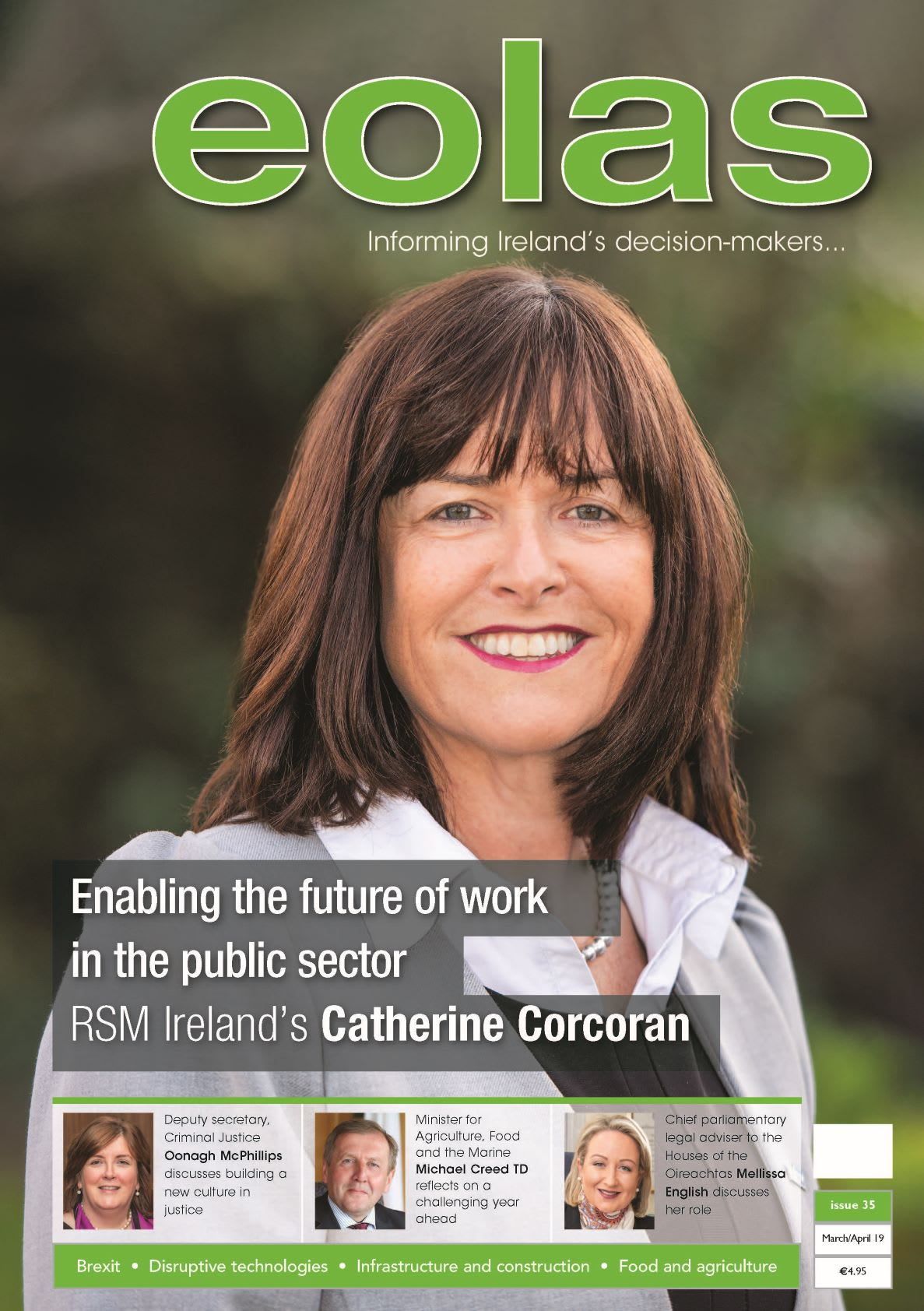 Eolas Magazine cover story - Enabling the future of work in the public sector