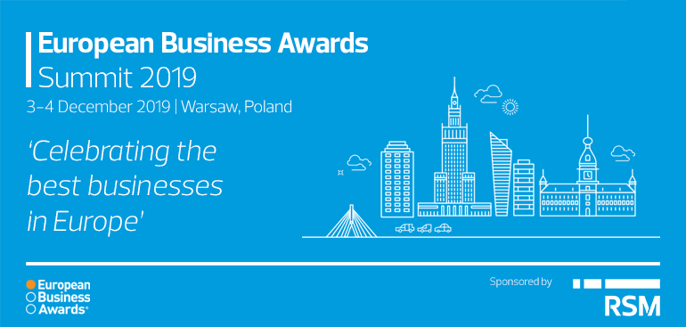 Winners of the European Business Awards 2019