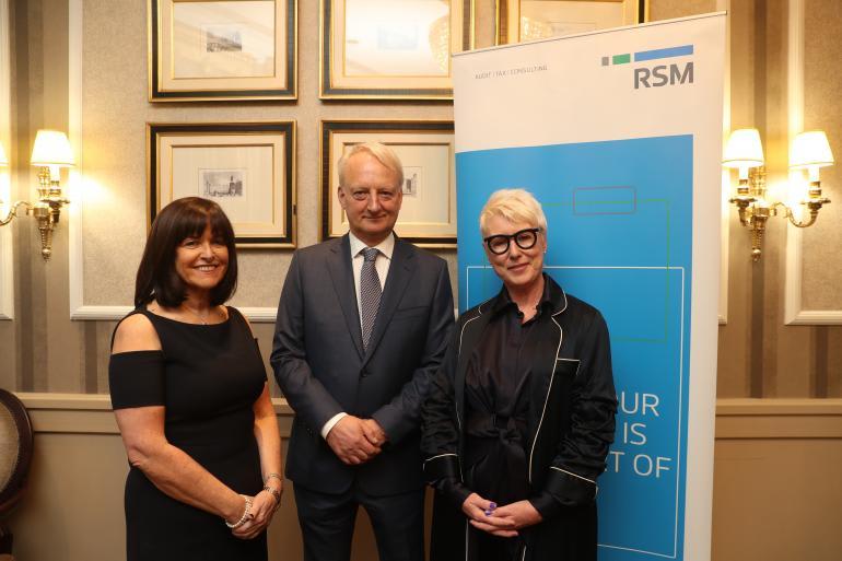 Moya Doherty speaks at RSM Ireland International Women's Day event