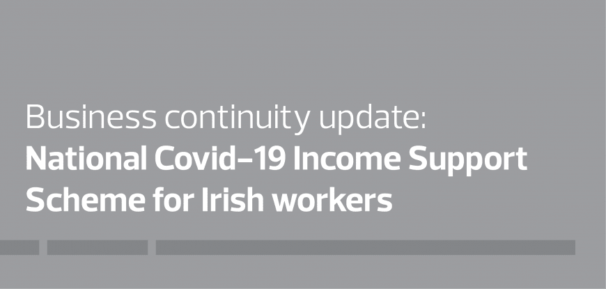 National covid-19 income support scheme