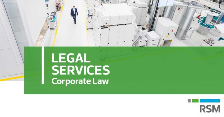 RSM Italy - Legal Services - Corporate Law