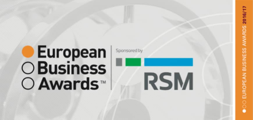 The European Business Awards for 2016-2017 are open