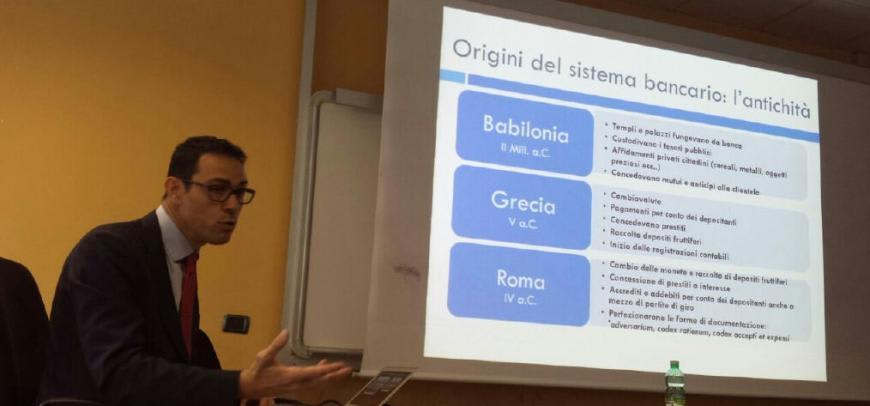 Avv. Carlizzi – laboratorio universitario sull'attività bancaria